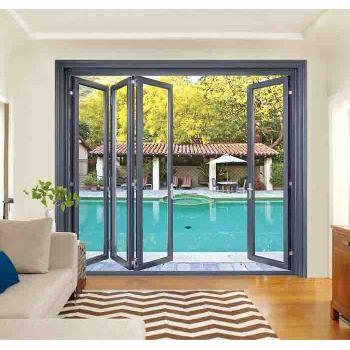 98 Heavy Thermal break Wide Folding Door