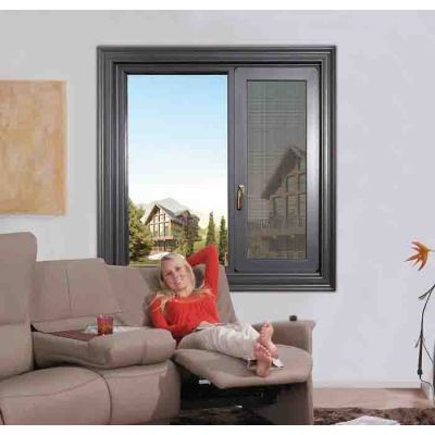 88 Thermal break Casement Window with mosquito net