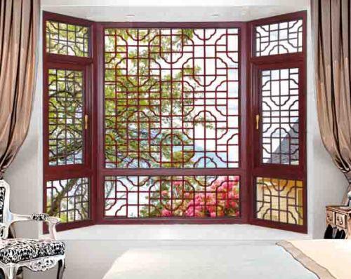 98 Thermal break Casement Window with mosquito net