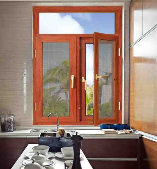 100 Casement Window with mosquito net
