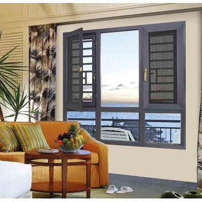 108 Thermal break Casement Window with mosquito net