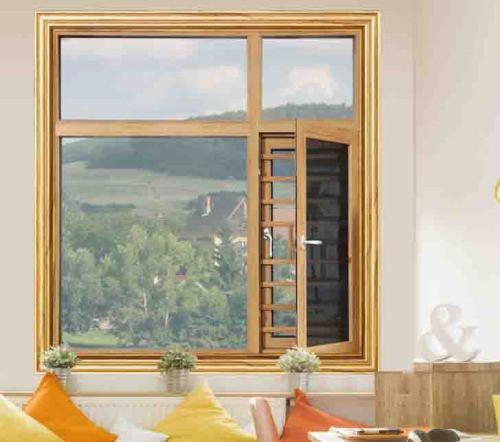 108 Thermal break Casement Window with mosquito net