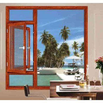 135 Casement Window with mosquito net