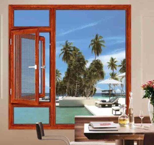 135 Casement Window with mosquito net