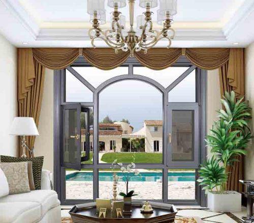 150 Thermal break Casement Window with mosquito net