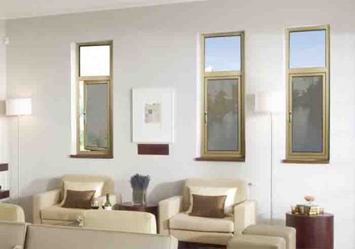 38 Casement Window with wire mesh