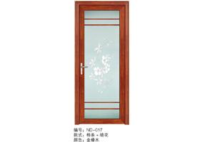 washroom brown door