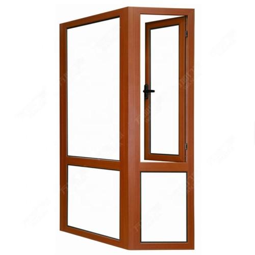 New Design Australia Standard  Aluminium Frame Double Glass Bay and Bow Window  For Sale