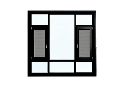 Aluminum Integrated Window
