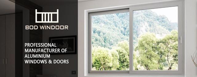 Aluminium windows doors