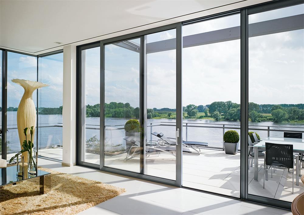 the specific measurement method for aluminum doors