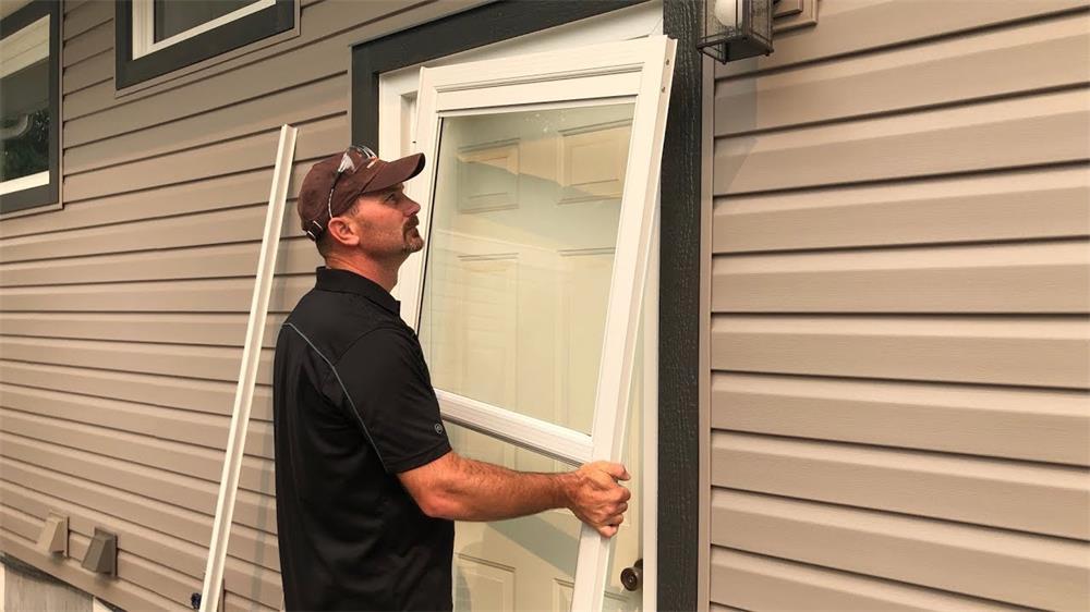 the installation process and precautions of aluminum doors