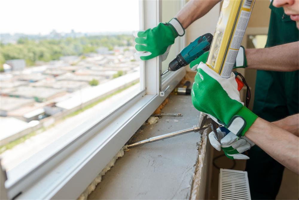 the precautions for installing aluminum windows