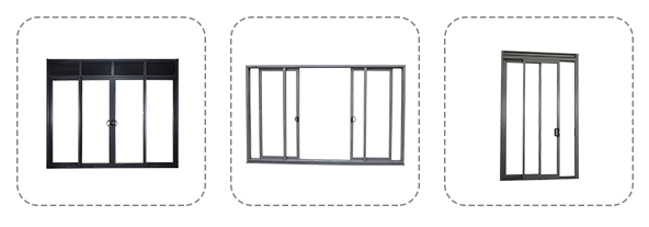 BOD window and door Opening Options