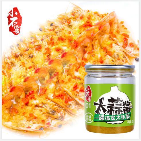 Salsa de ajo china Auténtico fabricante de salsa de cocina asiática