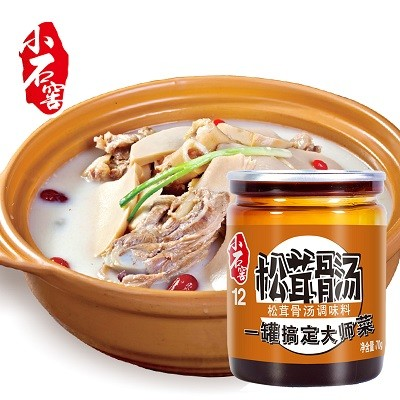 Sopa Matsutake condimento para sopa de pollo fabricante de salsa para cocinar