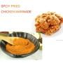 Mariande de pollo frito picante Auténtico fabricante asiático de adobo de carne