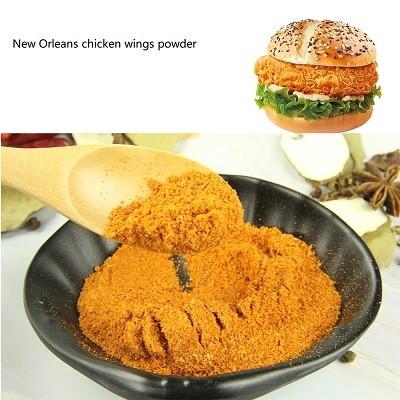Fabricante de polvo de alitas de pollo de Nueva Orleans
