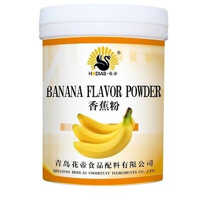 Sabor a plátano en polvo glaseado en polvo saborizante en polvo