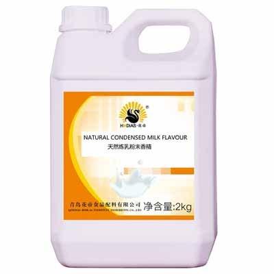 Sabor a leche condensada concentrado líquido con sabor a leche condensada