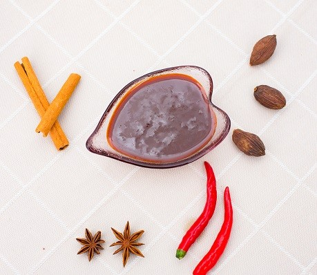 Saludables recetas de la base de la olla Salsa de la olla caliente Receta de la base Salsa china de la olla caliente