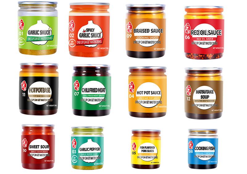 ¿Cuáles son las diferentes salsas chinas?