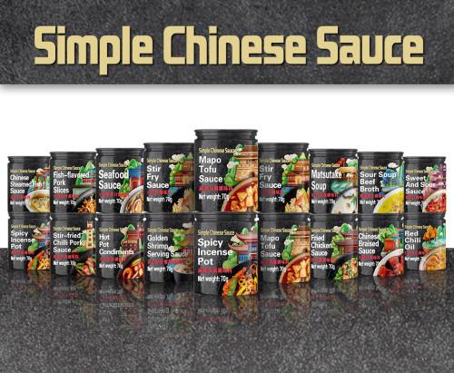 Olla de incienso picante deliciosa comida china condimento asiático popular fábrica de salsa de cocina