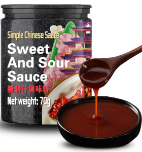 Sweet Sour Sauce chinese traditional  red sweet sour sauce recipe ingredients for pork