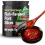 Fish Flavored Pork Slices Sauce hot and spicy chinese Fish-flavored shredded pork stir fry recipe