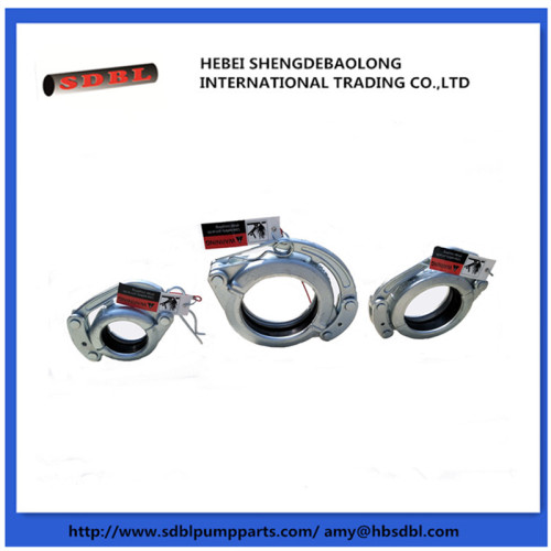 Concrete Pump Snap Coupling With Safety Pins