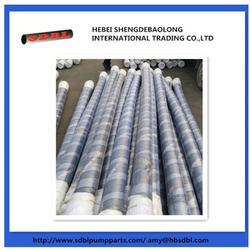concrete pump steel wire rubber hose and fabric rubber hose