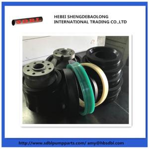 Putzmeister concrete pump rubber piston ram