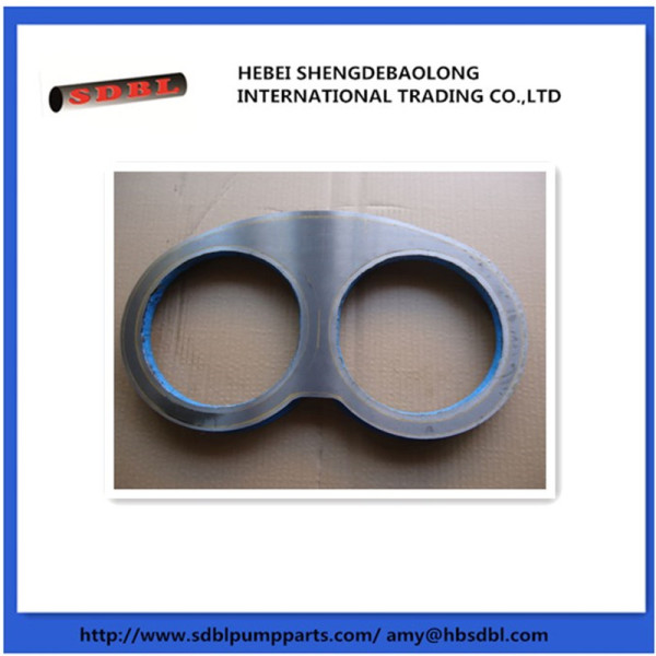 Schwing tungstem carbide wear plate and wear ring
