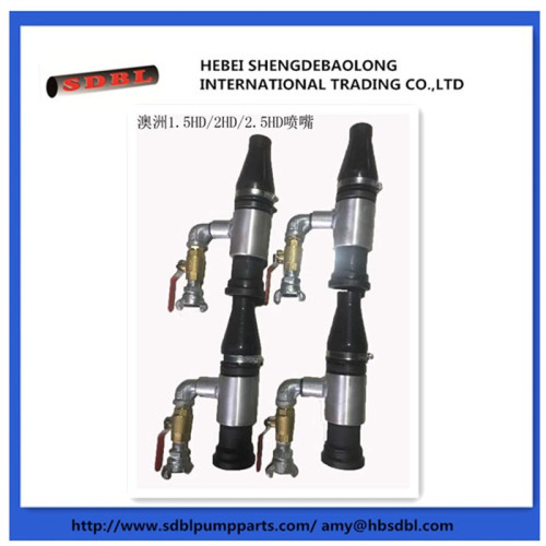 concrete pump steel wire rubber hose shortcrete nozzle