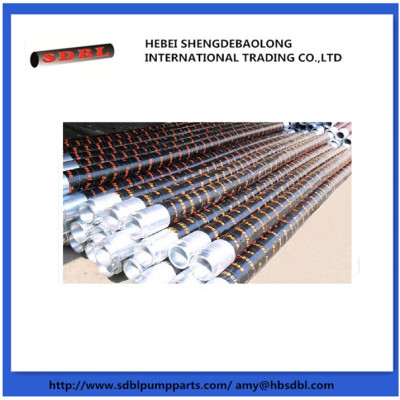 concrete pump flexible hose/steel wire/fabric hose/threads hose/reducing hose