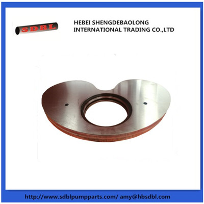 DN180 Schwing concrete pump kidney plate/kidney seal/housing lining /housing line