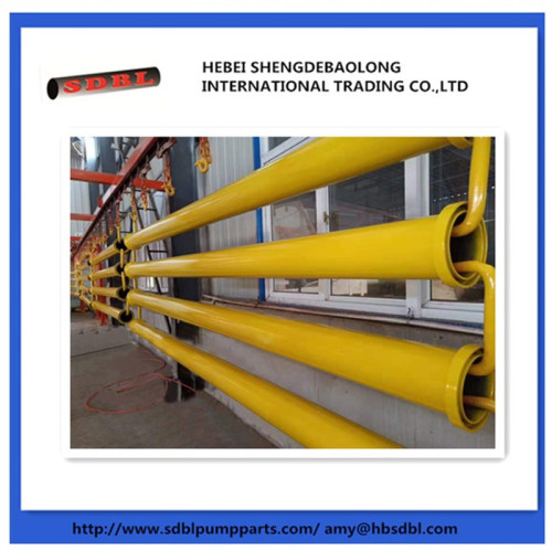 Schwing OD166 male and female ending seamless pipe tube