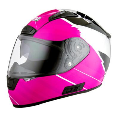 Full Face Motorcycle Bike Helmet with Dual Visors