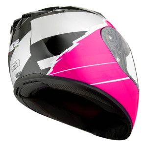 Full Face Motorcycle Bike Helmet with Dual Visors