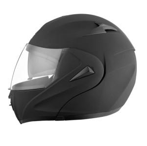 Flip Up Modular Motorcycle Helmet with Dual Visors
