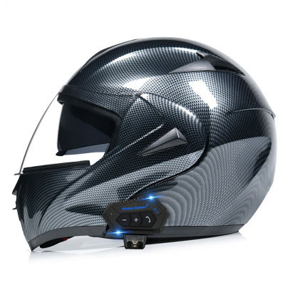 Flip Up Motorcycle Helmet with Bluetooth