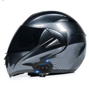 Flip Up Motorcycle Helmet with Bluetooth