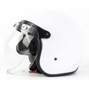 Three Quarter (3/4) Motorcycle Helmet with Face Shield