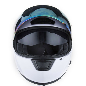 Full Face Motorcycle Helmet with Sun Visors