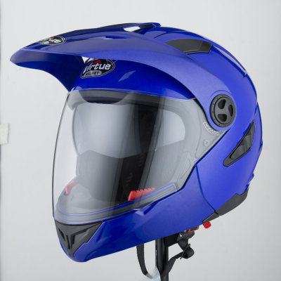 Youth Dirt Bike Helmets Vega blue ATV Lightweight Modular Motorcycle Helmet Adult Full Face Helmets