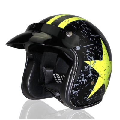 Cool Old Fashioned Motorcycle Helmet Vintage Simpson 1970s Biker Classic Steampunk Helmets DMD Retro