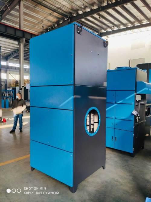 ACMAN 12000CBM/7000CFM  Pulse Jet Cartridge Dust Collector Unit for Dust Extraction System-TR-120B-J