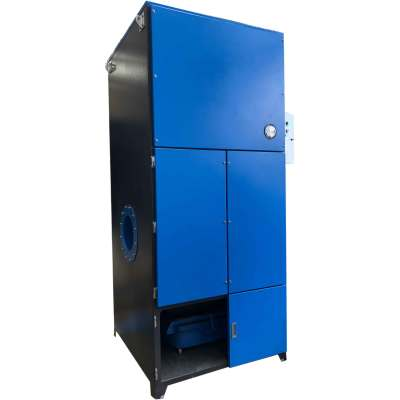Laser Cutter Fume Dust Collector, Cartridge Reverse Pulse Jet Dust Extractor