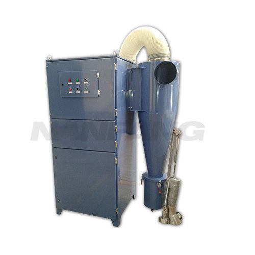 ACMAN 2 Stage Dust Collector Two Stage Collection System-Cyclone with Cartridge Dust Extractor