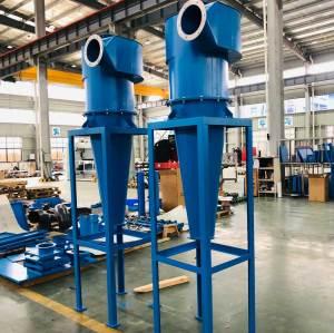 ACMAN Cyclone Dust Collector Industrial Powder Cyclone Separator Cyclone Dust Collection System